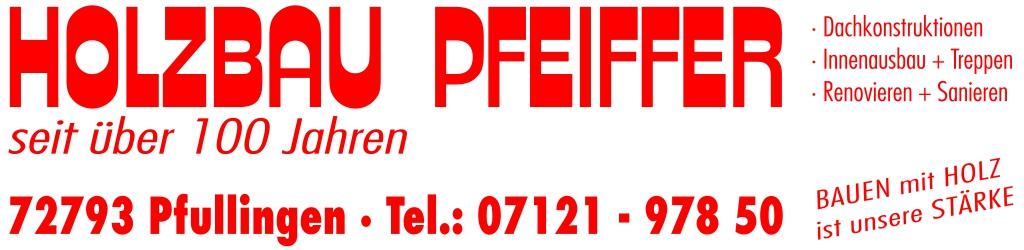 HOLZBAU PFEIFFER  - Wenn es um Holz und Dach geht